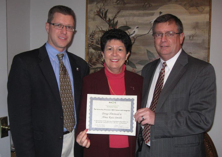 The University of Scranton SBDC – New Business Alert – Olmstead & Ruiz-Smith, LLC