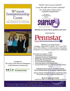 Business StartUP Series for Women