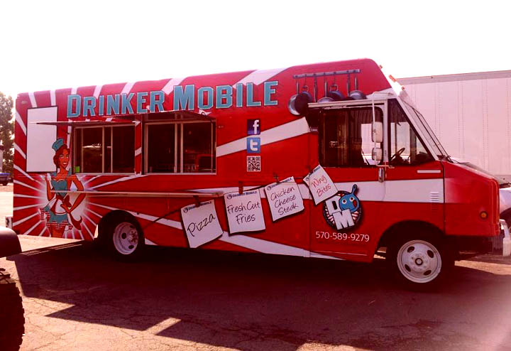 New Business Alert – Drinker Mobile, Food Truck – Dunmore, PA