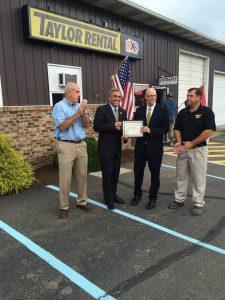 Pennsylvania SBDC Recognizes U.S. Congressman Barletta as Small Business Champion