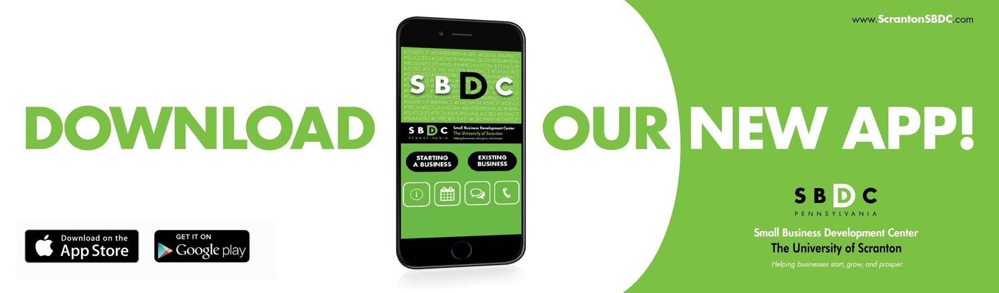 Read more about the article Introducing the New Scranton SBDC Small Business Mobile App