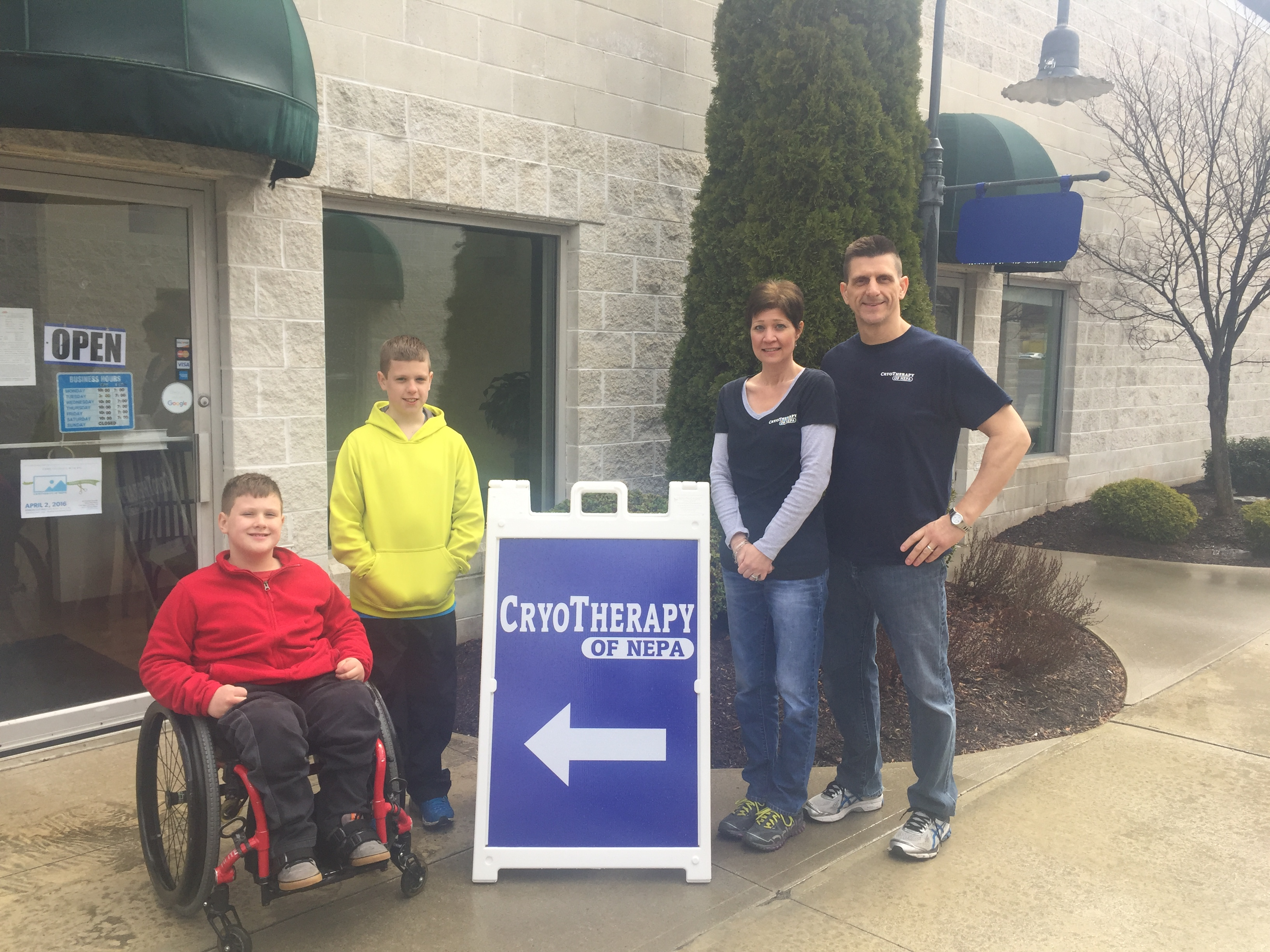 Read more about the article New Small Business Alert – CryoTherapy of NEPA – Lackawanna County