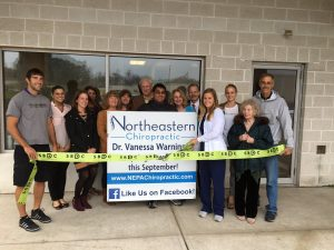 New Business Alert – Northeastern Chiropractic- Dr. Vanessa Warninger – Daleville, PA