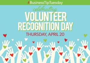#BusinessTipTuesday – The Value of Volunteering