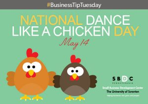 #BusinessTipTuesday – Dance Like a Chicken Day