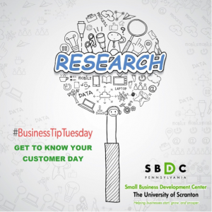 Business Tip Tuesday – Get to Know Your Customers