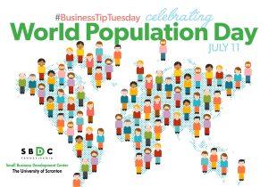 #BusinessTipTuesday – Celebrating #WorldPopulationDay