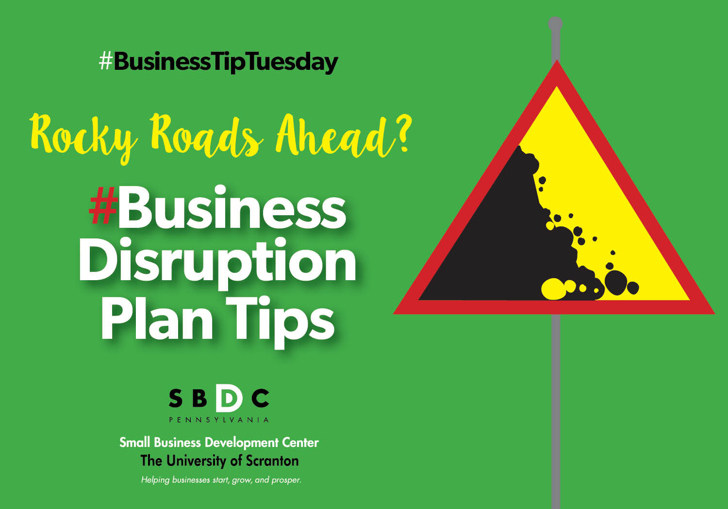 #BusinessTipTuesday- Business Disruption Plan Tips