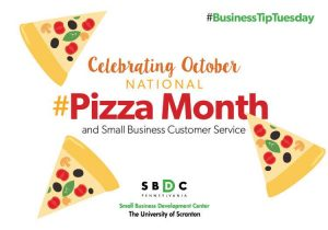 #BusinessTipTuesday #NationalPizzaMonth