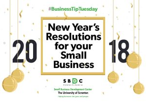 Read more about the article #BusinessTipTuesday-New Year's Resolutions for your Small Business