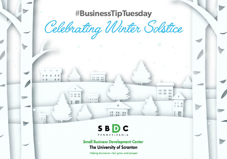#BusinessTipTuesday – Celebrating Winter Solstice