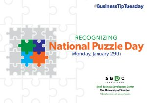 #BusinessTipTuesday – National Puzzle Day