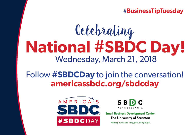 #BusinessTipTuesday – Celebrating National #SBDCDay!