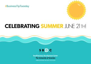 Read more about the article #BusinessTipTuesday – Celebrating Summer June 21th