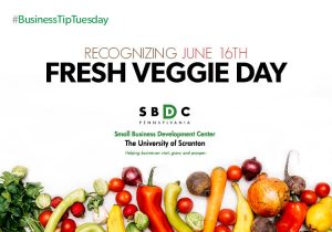 #BusinessTipTuesday – Fresh Veggie Day