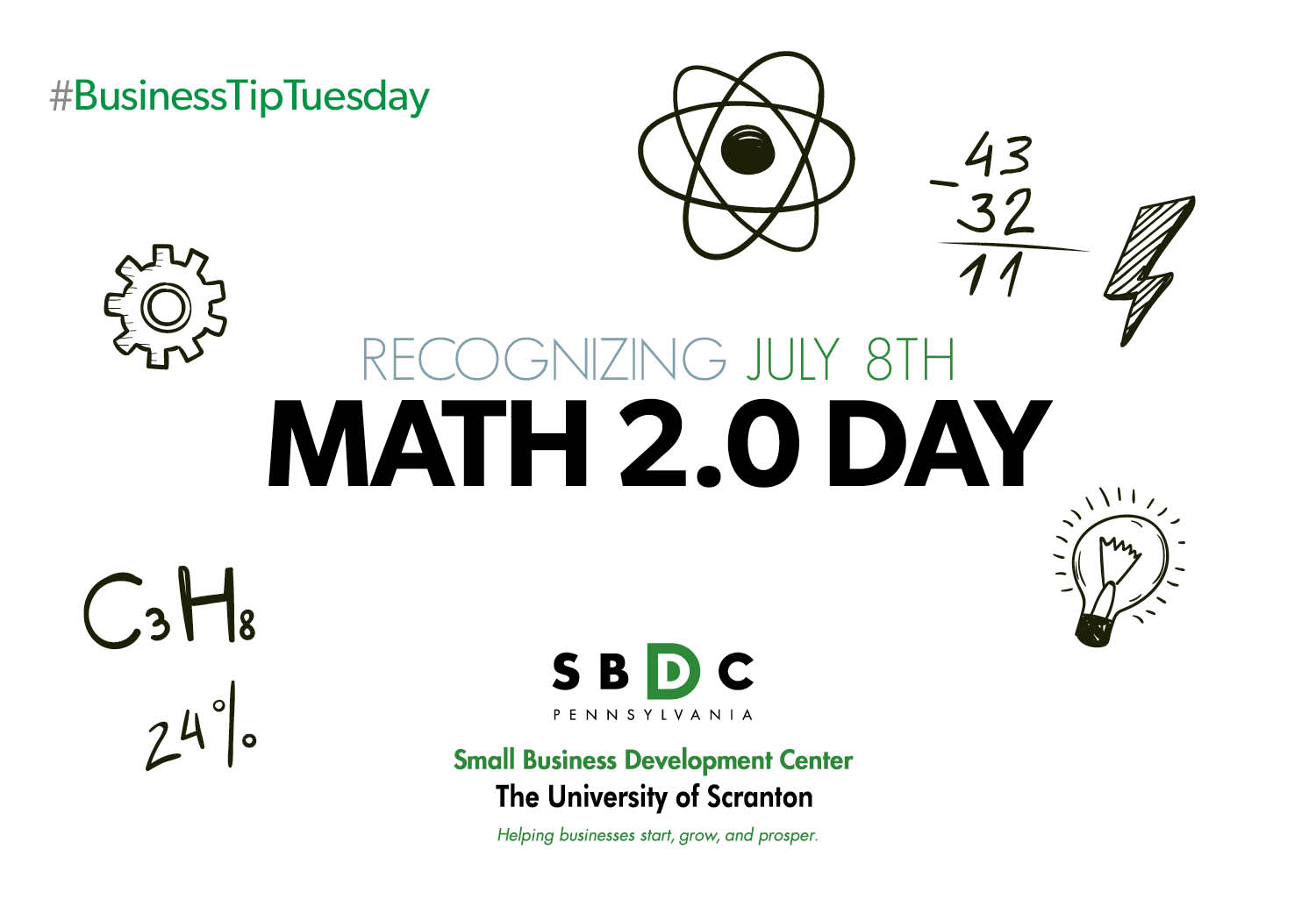#BusinessTipTuesday: Math 2.0 Day