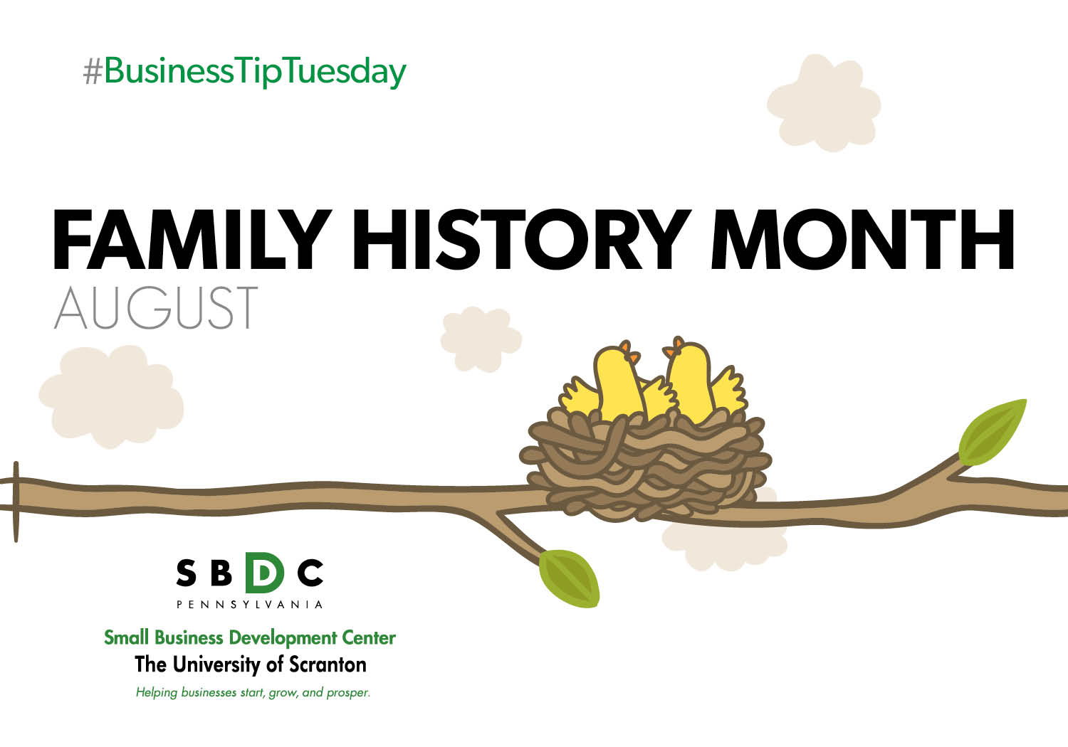 #BusinessTipTuesday – Family History Month