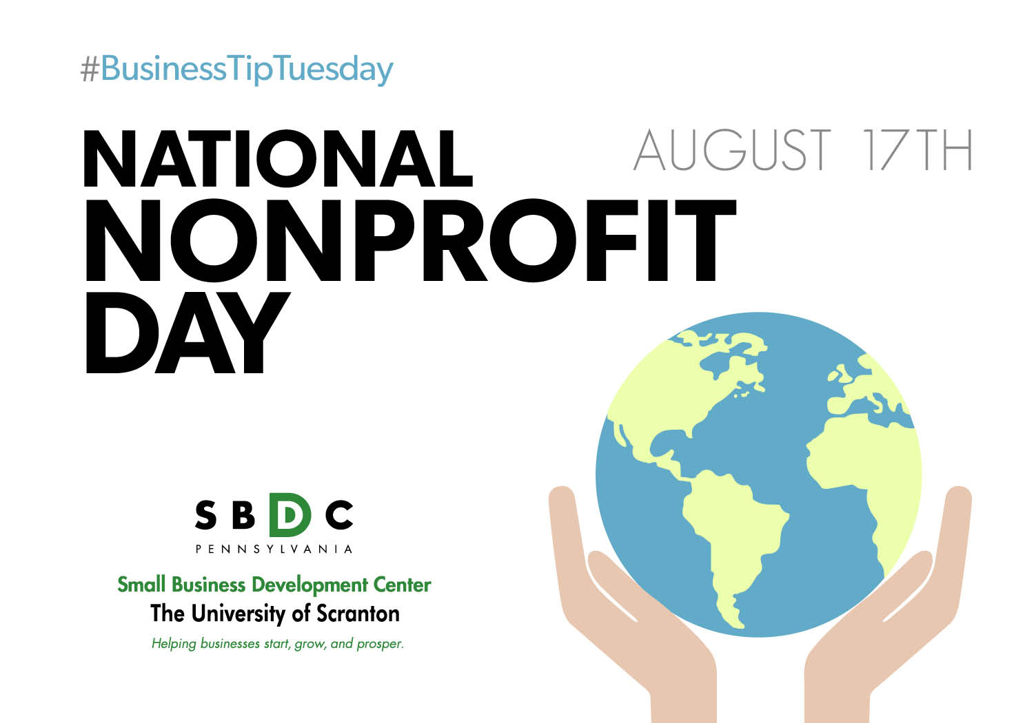 #BusinessTipTuesday – National Nonprofit Day