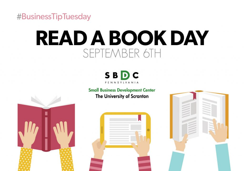 #BusinessTipTuesday – Read a Book Day