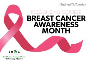 Read more about the article #BusinessTipTuesday – Breast Cancer Awareness Month