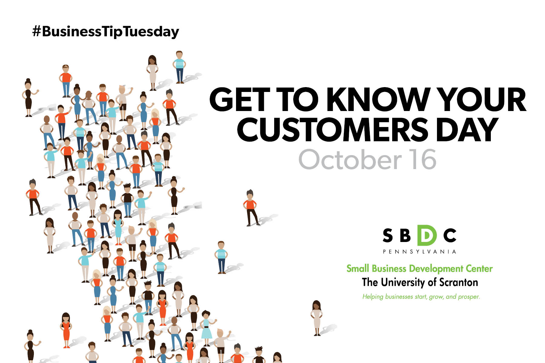 #BusinessTipTuesday – Get to Know Your Customers Day