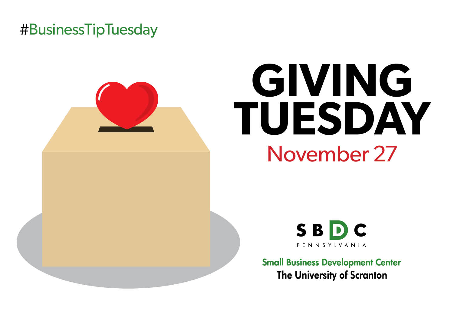 #BusinessTipTuesday – Giving Tuesday