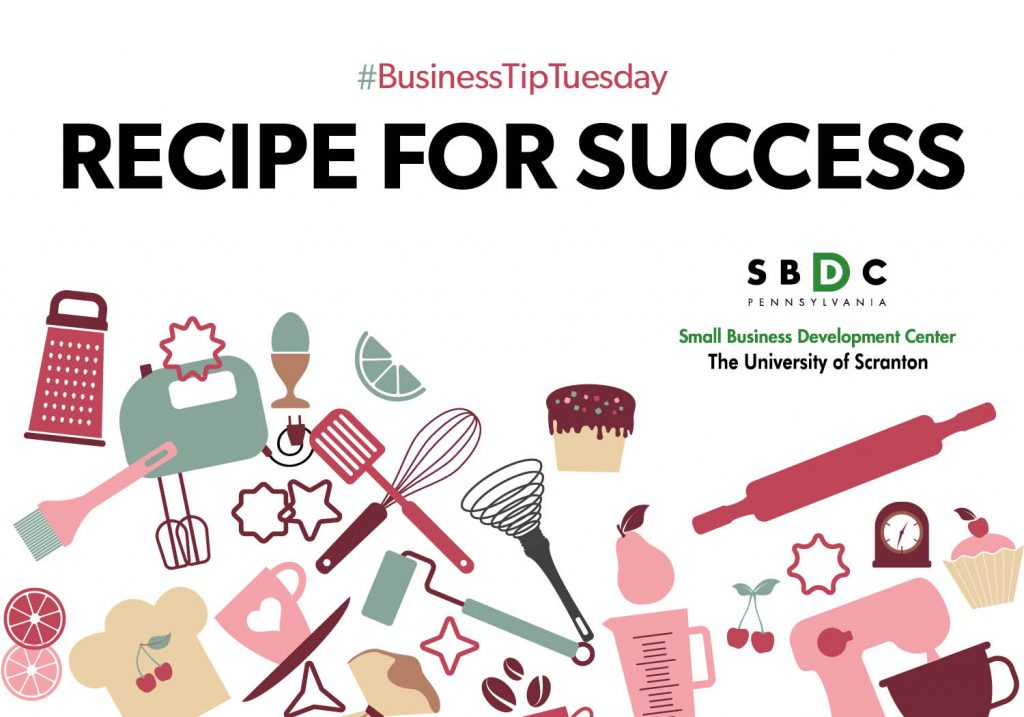 #BusinessTipTuesday – Recipe for Success