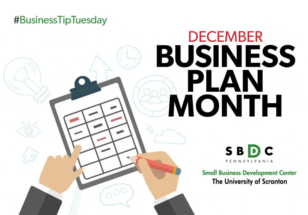 #BusinessTipTuesday – National Write a Business Plan Month