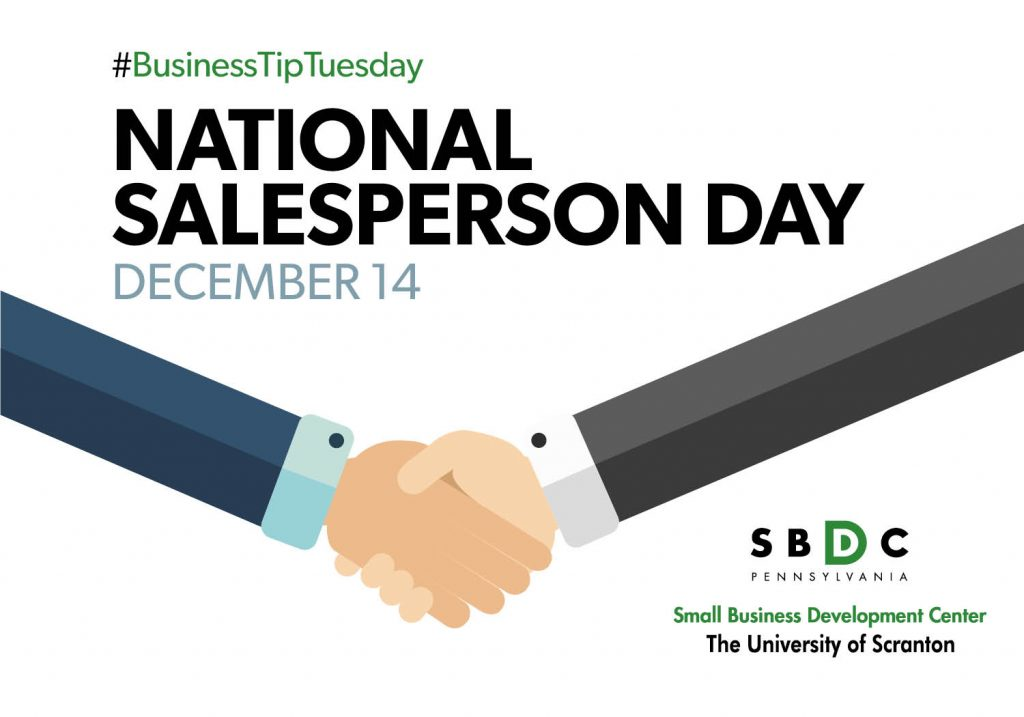 #BusinessTipTuesday – National Salesperson Day