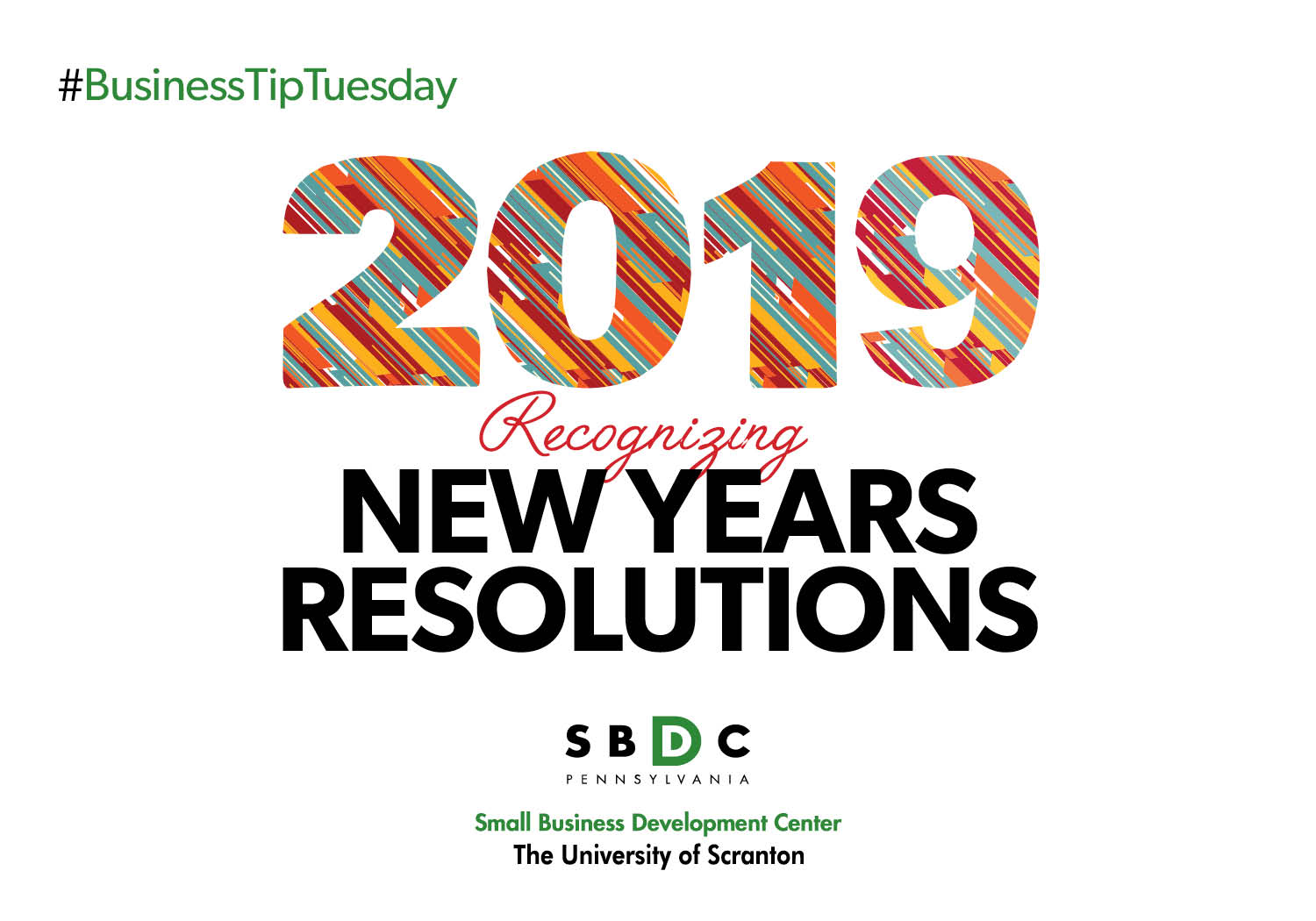 #BusinessTipTuesday – New Years Resolutions