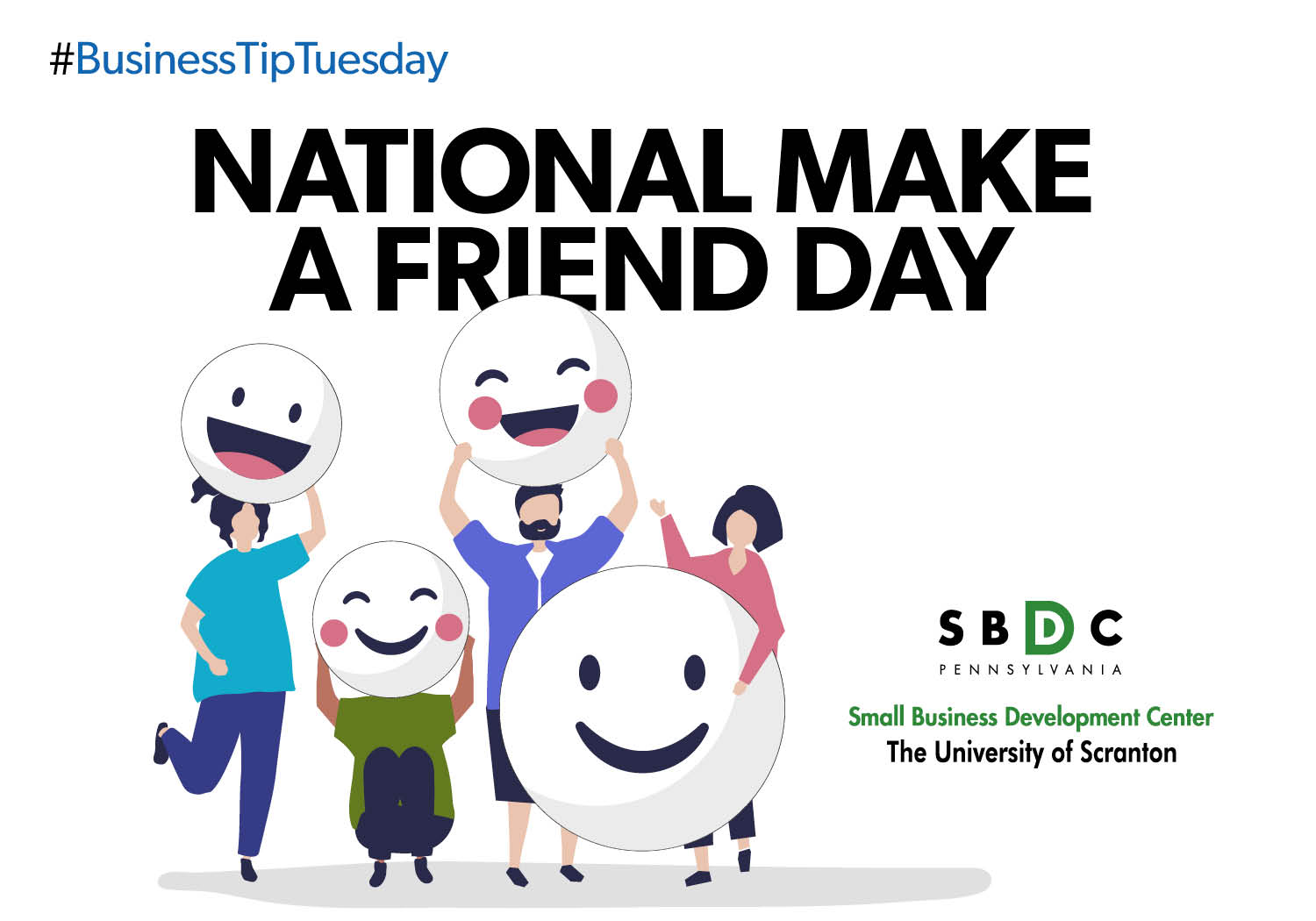 #BusinessTipTuesday – National Make a Friend Day