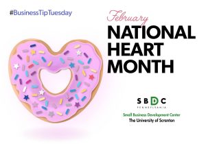 #BusinessTipTuesday –  National Heart Month