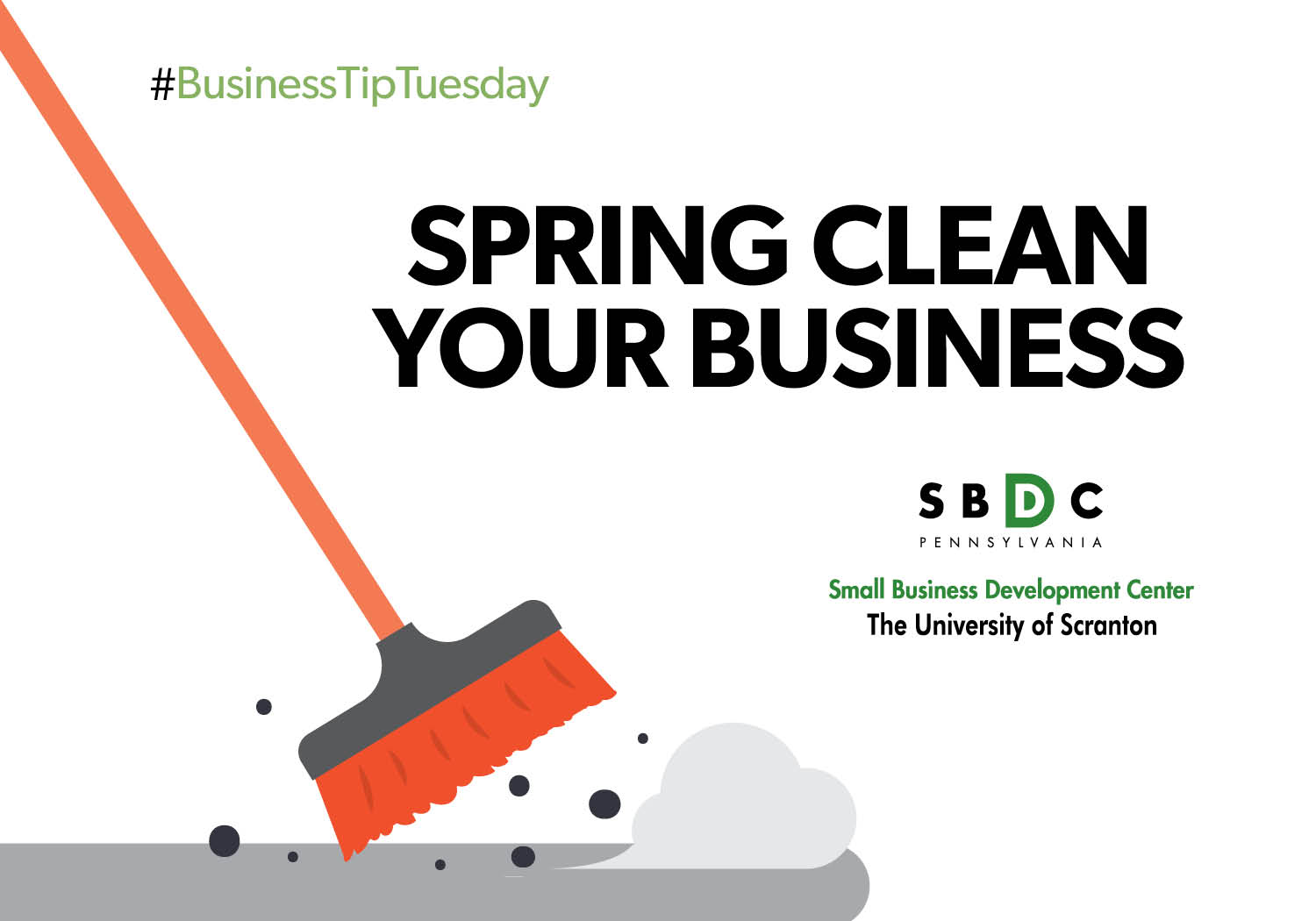 #BusinessTipTuesday – Ways to Spring Clean Your Business