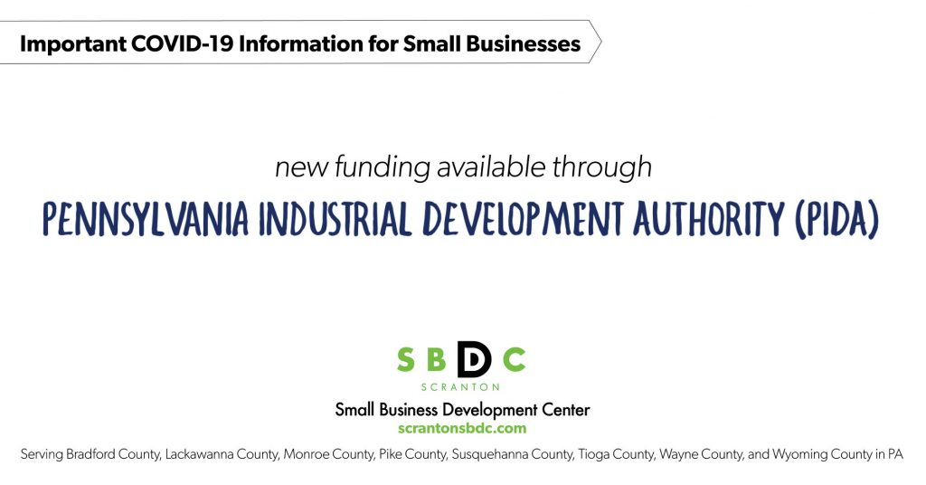 New Funding Available through PIDA