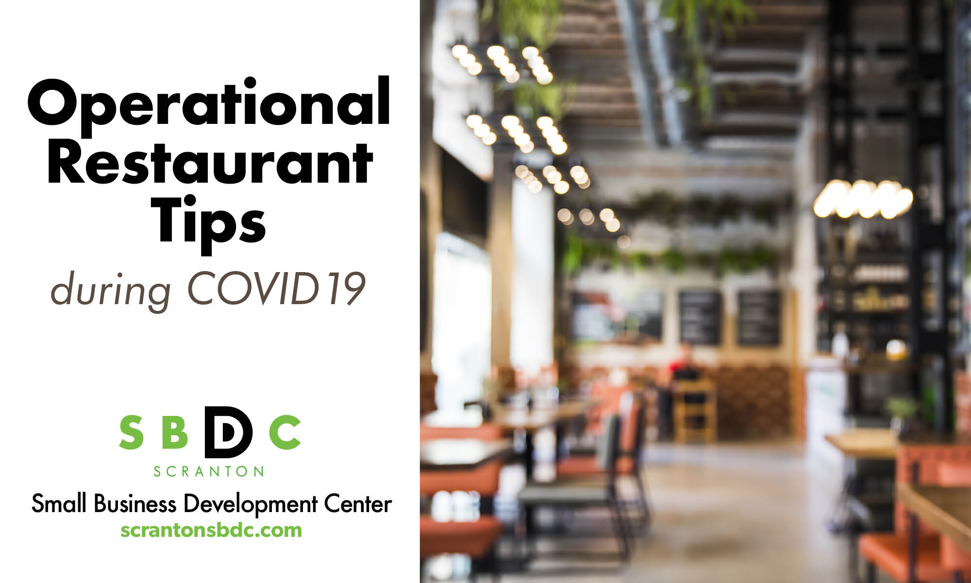 Operational Restaurant Tips during COVID19