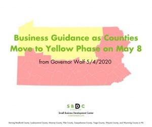 Governor Provides Business Guidance as Counties Move to Yellow Phase on May 8