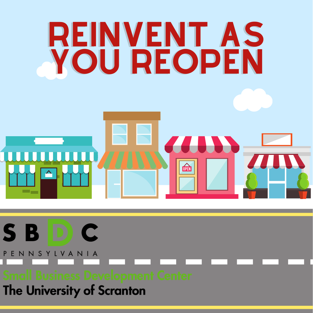 Reinvent As You Reopen