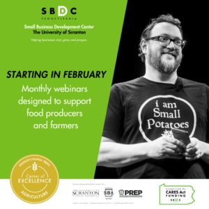 Monthly Webinars Designed to Support Food Producers and Farmers During the Pandemic